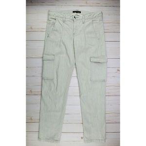 Theory | Baratini Worldly Cargo Skinny Crop Jeans